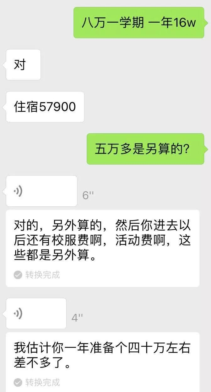 一网友8万,上海民办小学学期创学费!小学:大概海伦湾新高图片