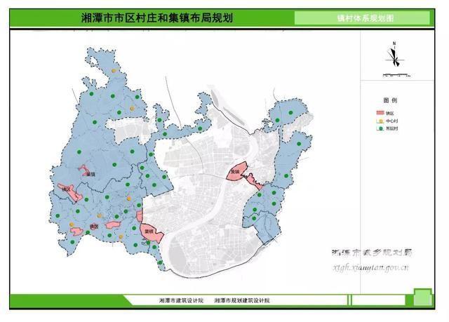 湘潭最新规划出炉,鹤岭,昭山,姜畲,响水……令人羡慕!