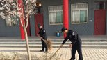 合阳县公安局黑池派出所开展系列学雷锋活动