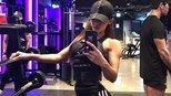 57公斤健身女神,马甲线加一身肌肉,超过三位数体重又如何?
