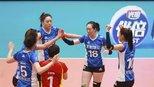 遗憾落败,上海女排1-3不敌天津,期待回归主场再战!