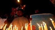 巴基斯坦民众举行集会 悼念斯里兰卡遇难者