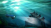 潜入千岛湖水下40米 探秘千年古狮城