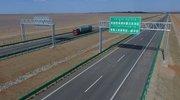 中国最长沙漠高速公路,全长2768公里,近500公里为无人区