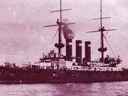 激战黄海:随军记者拍摄照片近距离再现日俄舰队海战场景