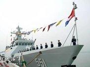 中国隐身战舰下饺子已近40艘 紧盯在南海美军核潜艇