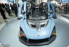 迈凯伦新款超跑塞纳亮相 售价1600万元