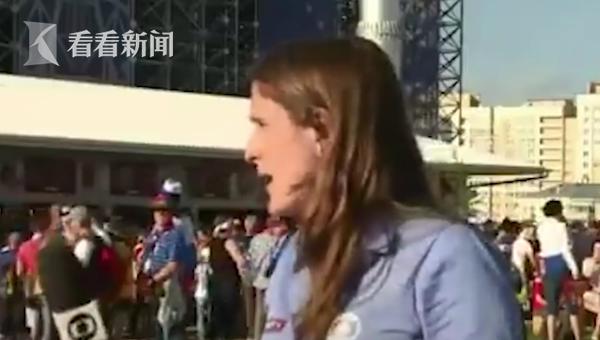 直播时差点被强吻 女记者怒斥:永远别这么做