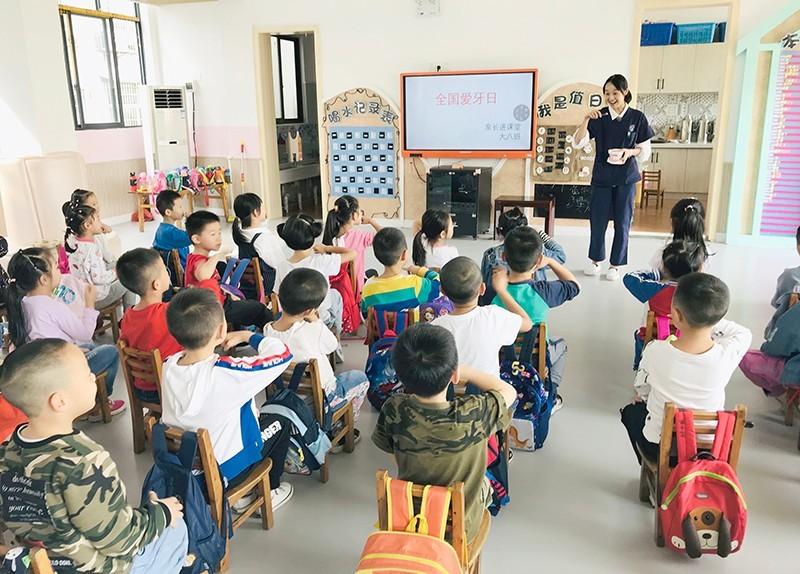四川岳池:示范幼儿园开