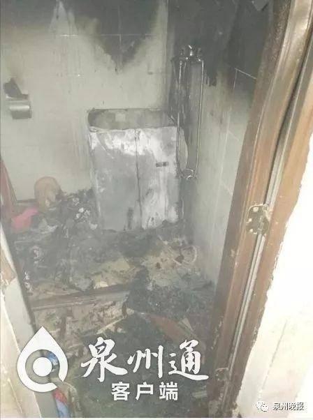 家里着火男子哭着不肯逃:20万私房钱还藏在天花板