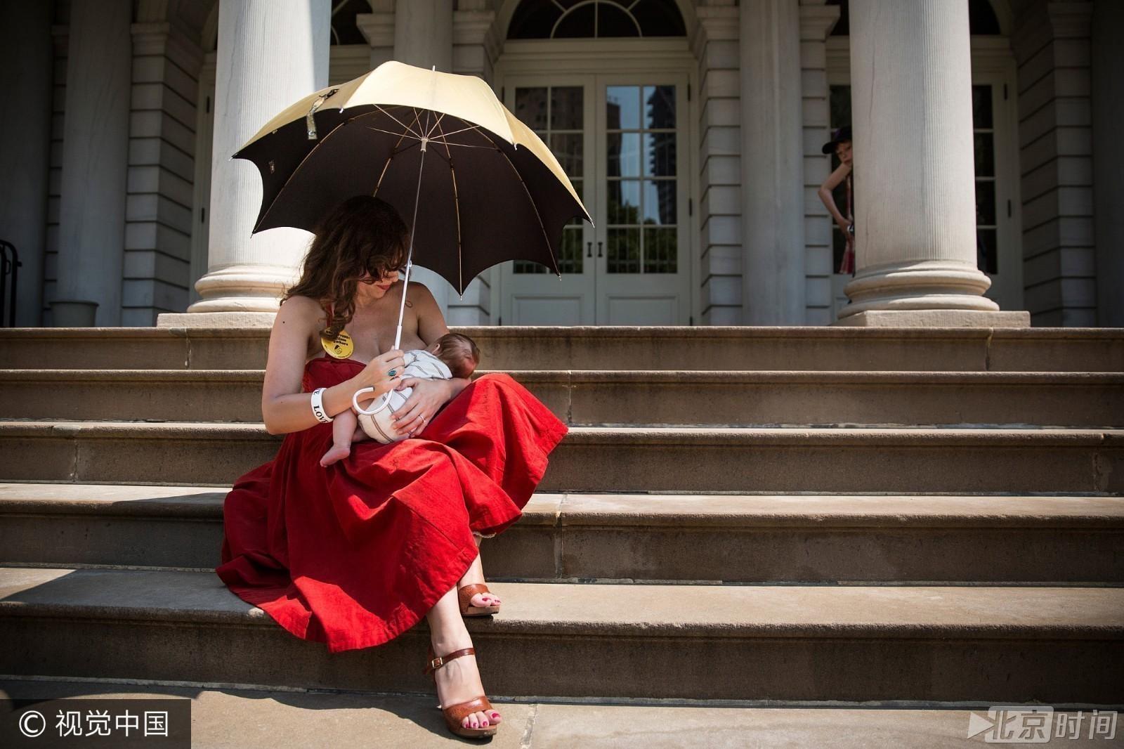 【转载】世界母乳喂养周!各国妈妈带宝贝呼吁爱营造爱 - 香雪 - 鲜花盛开的村庄