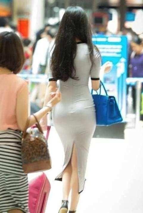 街拍: 鱼尾臀女神穿丝薄包臀裙出门, 感觉自己要恋爱了 - 翔宇天使 - 翔宇天使的博客