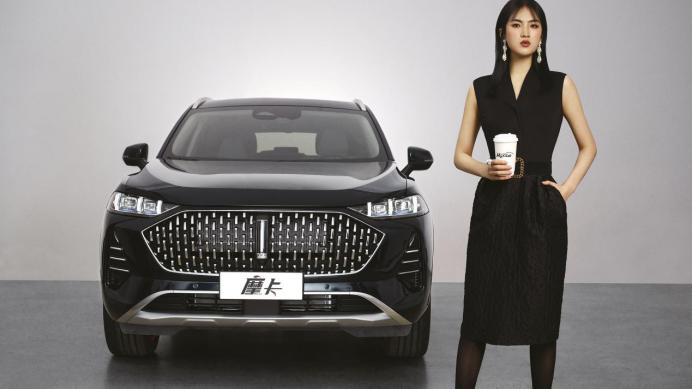 科技圈汽车圈时尚圈的破壁联合,WEY全新旗舰SUV摩卡出道
