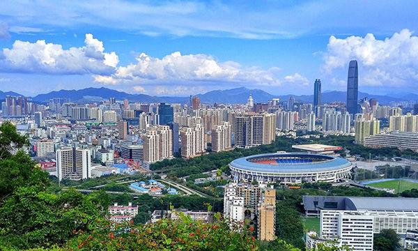 中国各大城市2017年的常住人口,北京、上海和