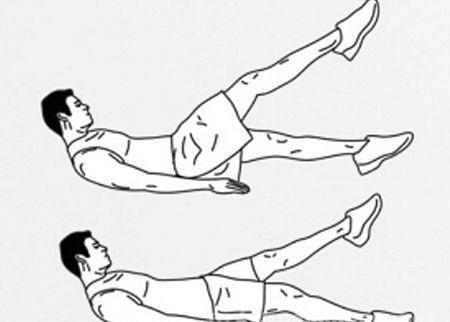 初学者一周三练增肌健身计划