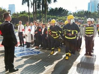 消防安全意识高 应急预案长相伴