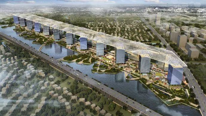 """唯一!启迪漕河泾科技园为上海松江""""两业融合""""发展探索新模式"""
