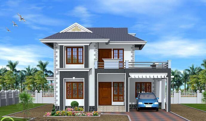 10套小户型农村别墅,2层造价不到30万,带车库
