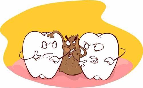 吃东西总塞牙是病 得治!要想牙缝不变大就得这样做 - 眼花缭乱的世界 - 向前,向前,一路向前!!!
