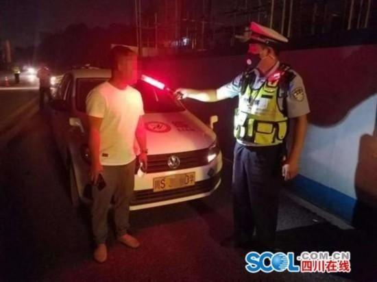 达州一驾校教练酒后开车被查 5年内不得考取驾