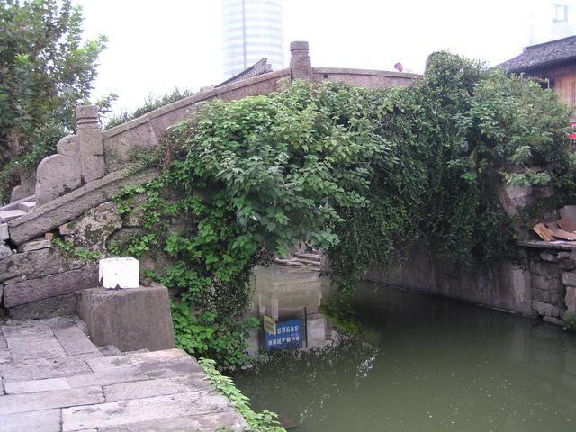 这座桥成名于王羲之给老婆婆题字卖扇,书法,题字,题匾,名家,真迹,cntizi.com