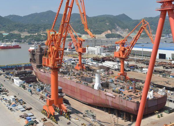 中国造的这艘大船
