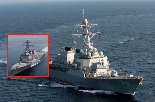美军舰本想悄悄过台海 结果蔡英文太咋呼
