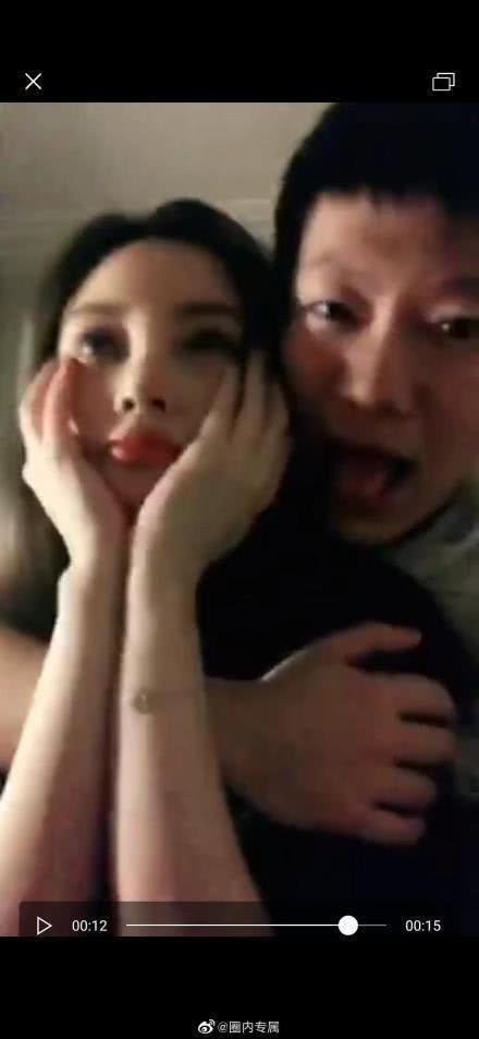 李小璐PGone接吻视频流出 情侣装录小视频好嗨