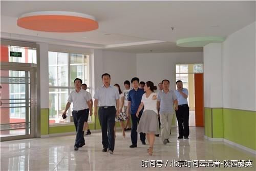 蒲城县委书记陈振江深入县第三幼儿园视察指导工作