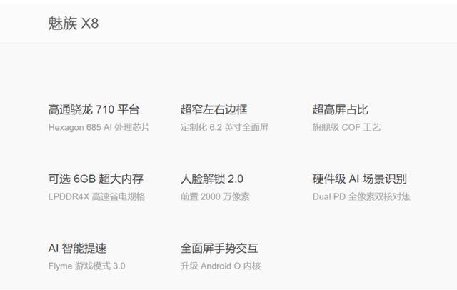 魅族X8售价1598元却搭载了骁龙710