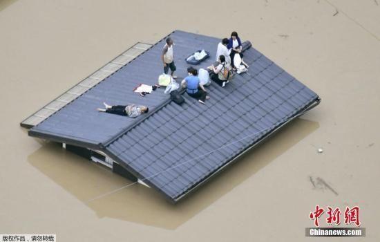 日本暴雨已造成67人死亡 约有430万人需要疏