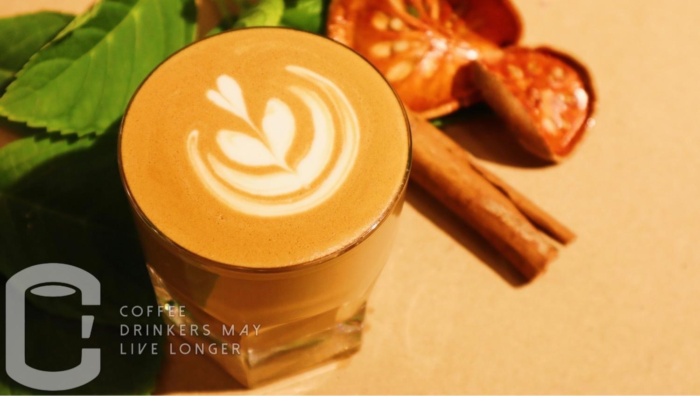 S-body&C.coffee我们的小店有很多创意咖啡