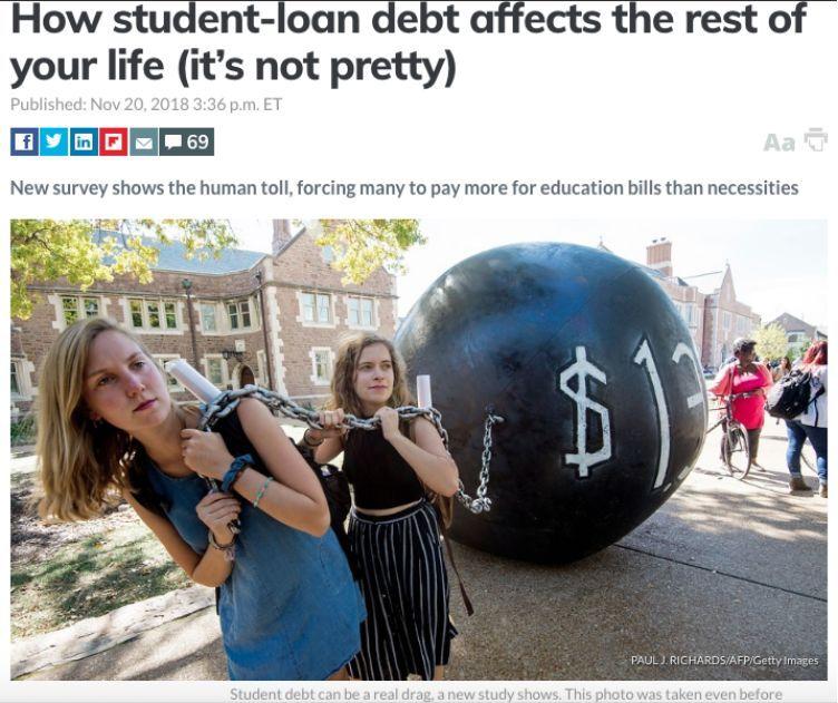 """奥巴马用21年还清的贷款 让美年轻人""""输在起跑线"""""""