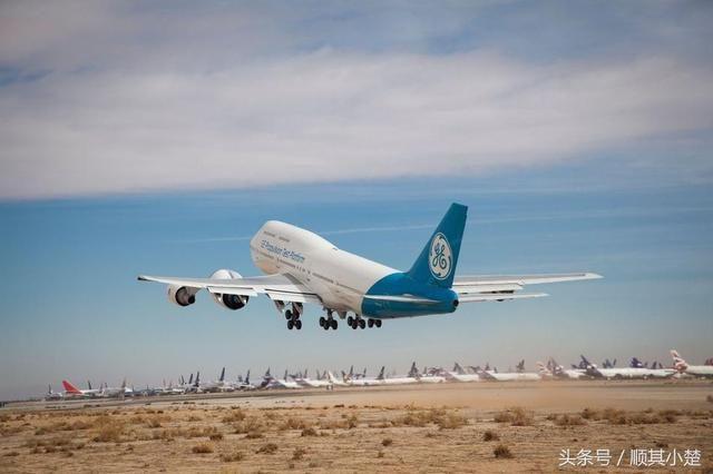 世界之最--美制世界最大发动机GE-9X首飞测试