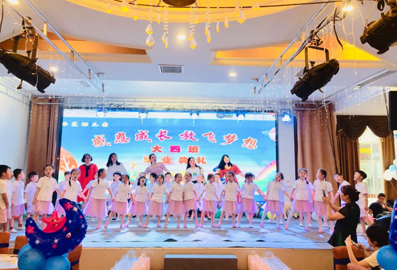 四川岳池:示范幼儿园举行2019年毕业典